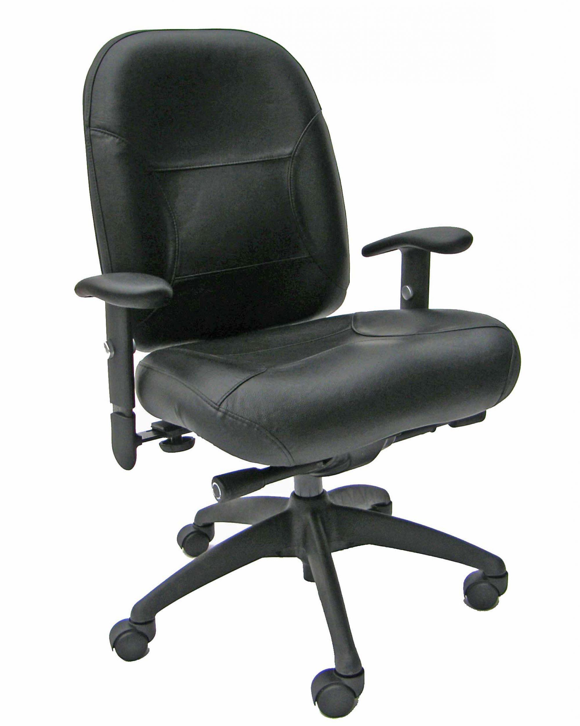 Lovely MVP Extreme Ergonomic Chair BLACK LEATHER