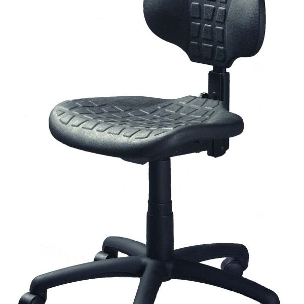 "Workout ""lab/shop"" chair"